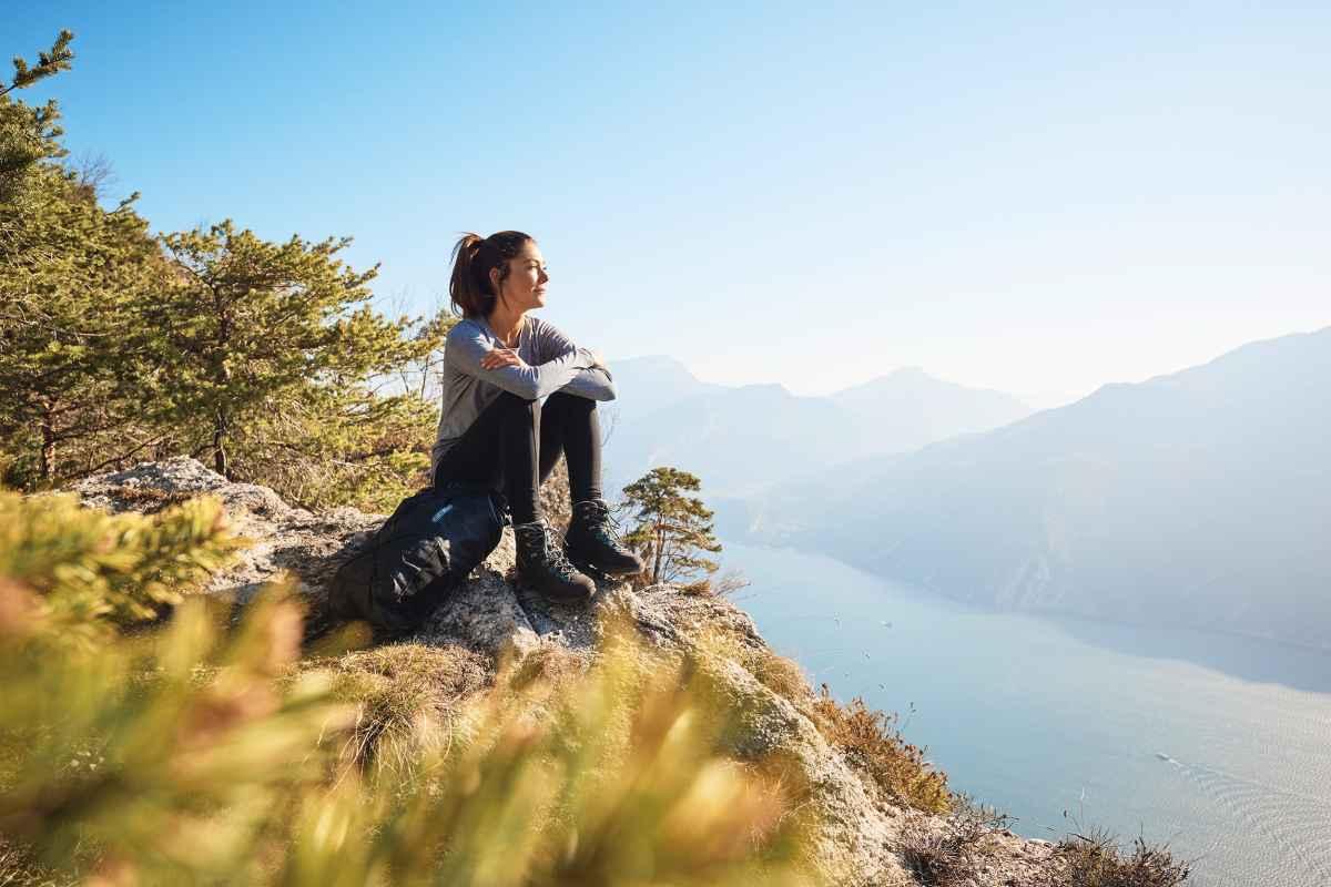 Imagefoto met de MAURIA GTX Ws, Image Shooting Gardasee