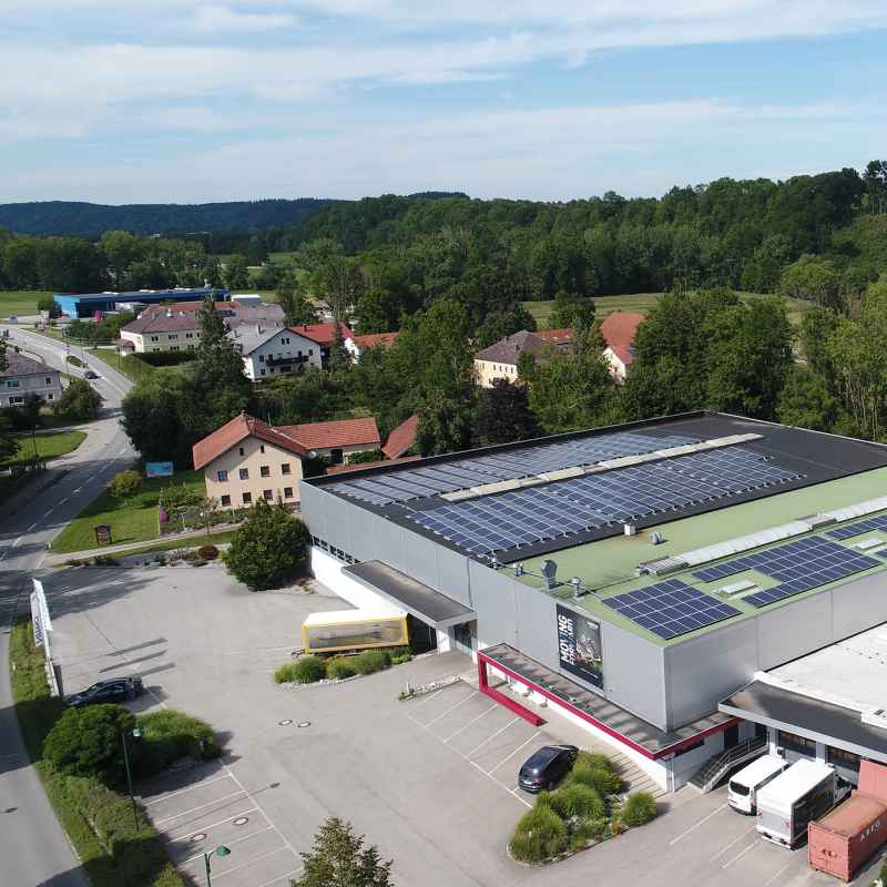 25 per cent of electricity needs in Jetzendorf come from photovoltaic systems