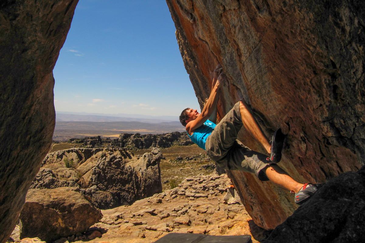 Bouldern in Africa