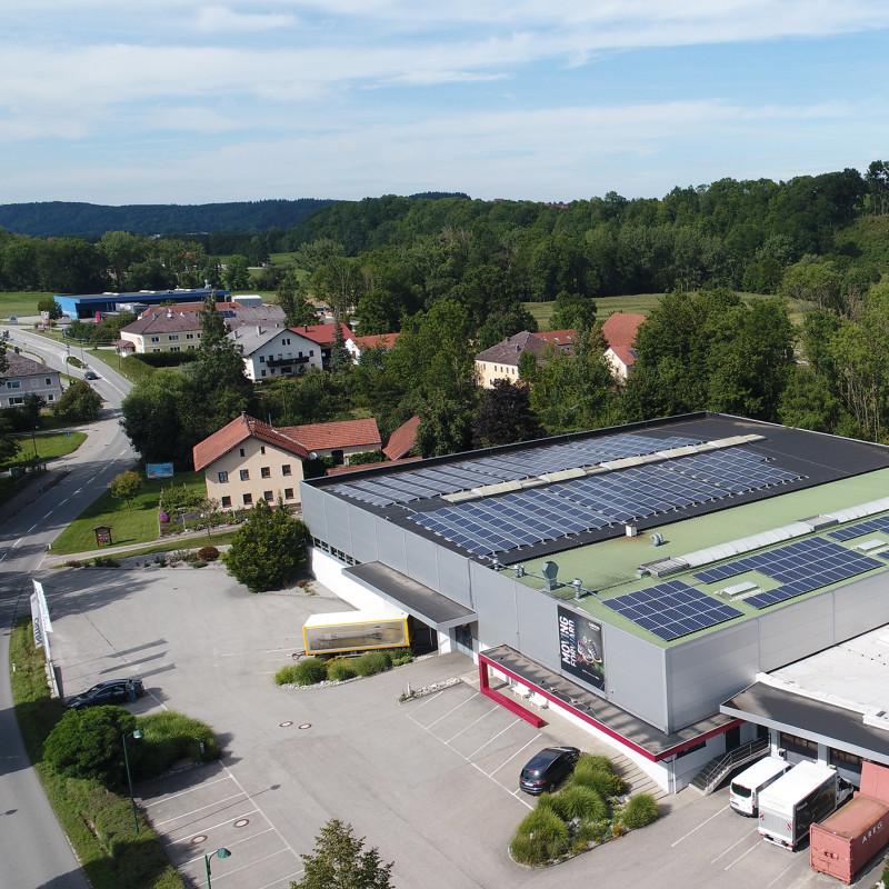 25 Prozent des Strombedarfs in Jetzendorf werden durch die Photovoltaik-Anlage abgedeckt