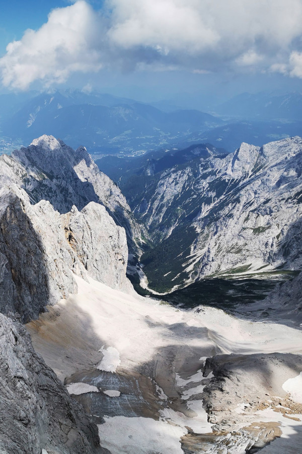 Il y a 200 ans a eu lieu la première ascension de la Zugspitze