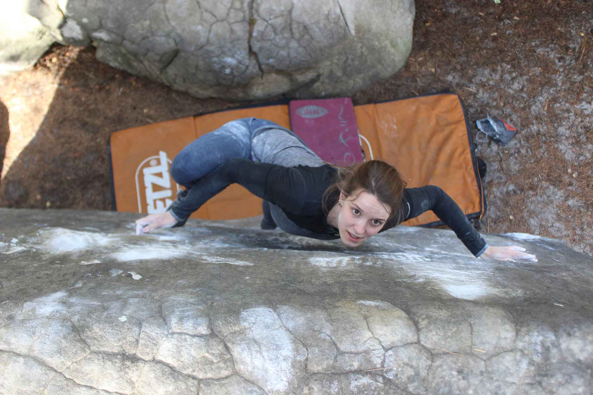 Fontainebleau Bouldern