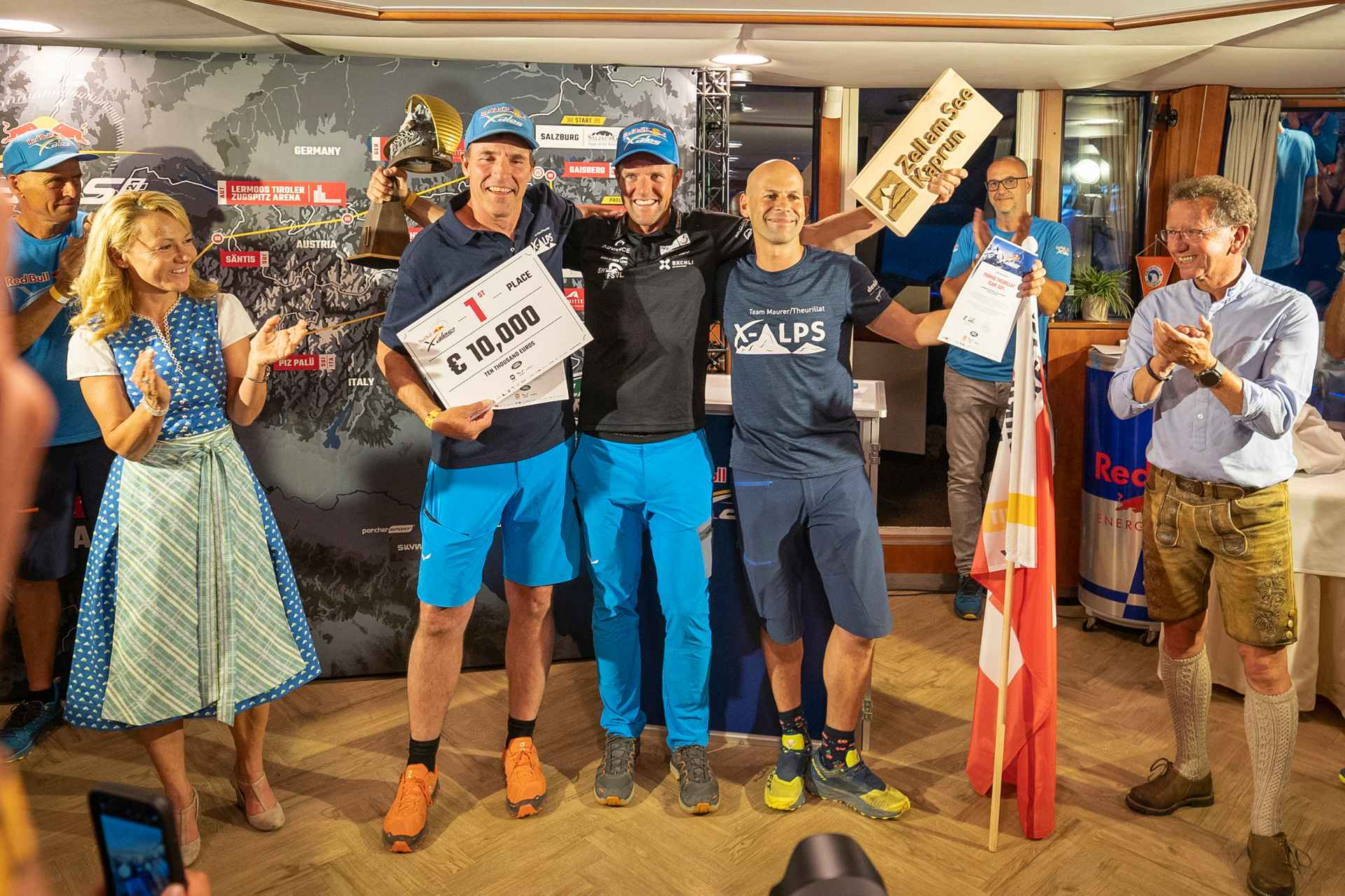 RBC seen during the Red Bull X-Alps in Zell am See, Austria on July 2, 2021.