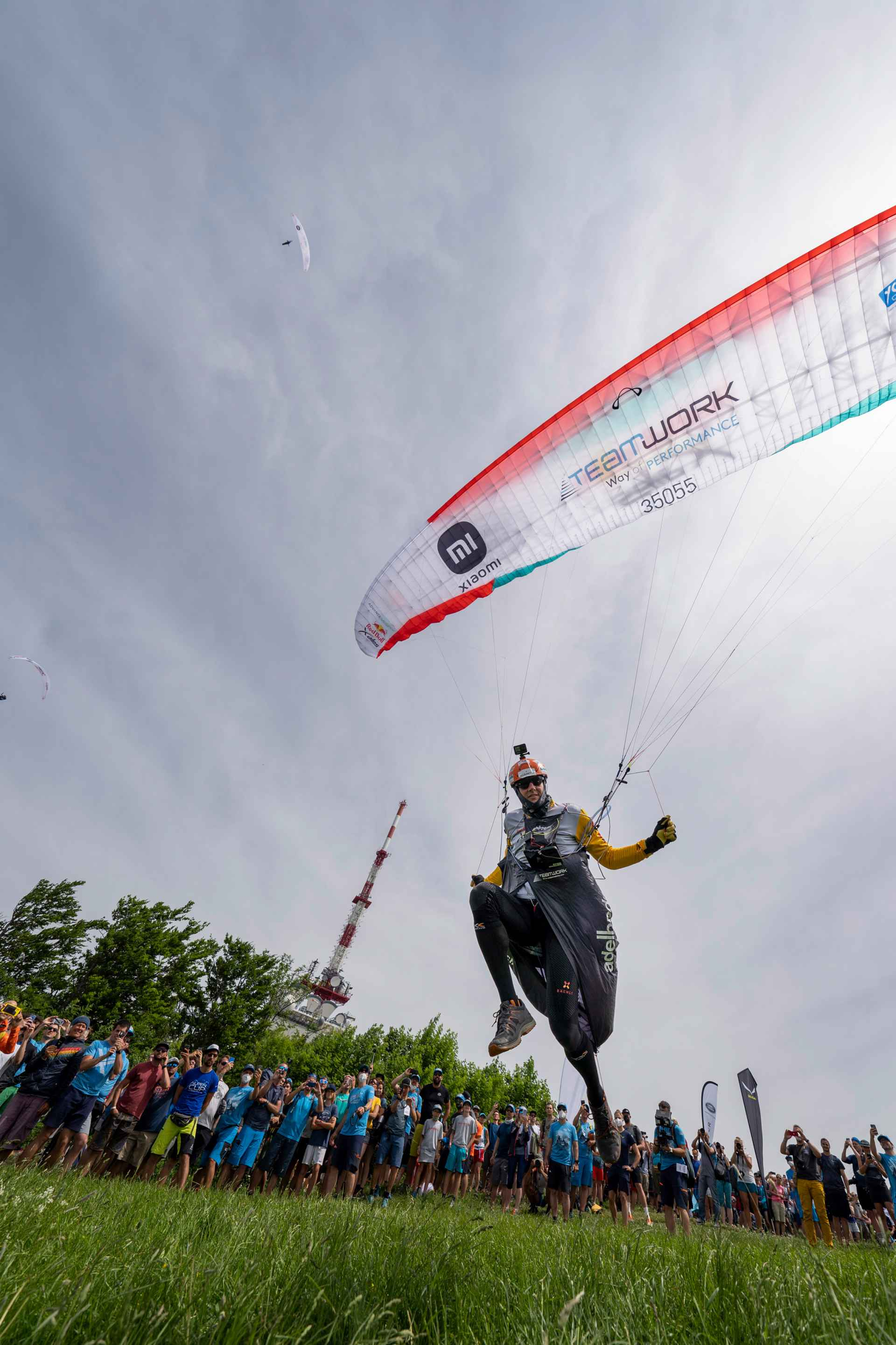 SUI1 performs during the Red Bull X-Alps in Salzburg, Austria on June 20, 2021.