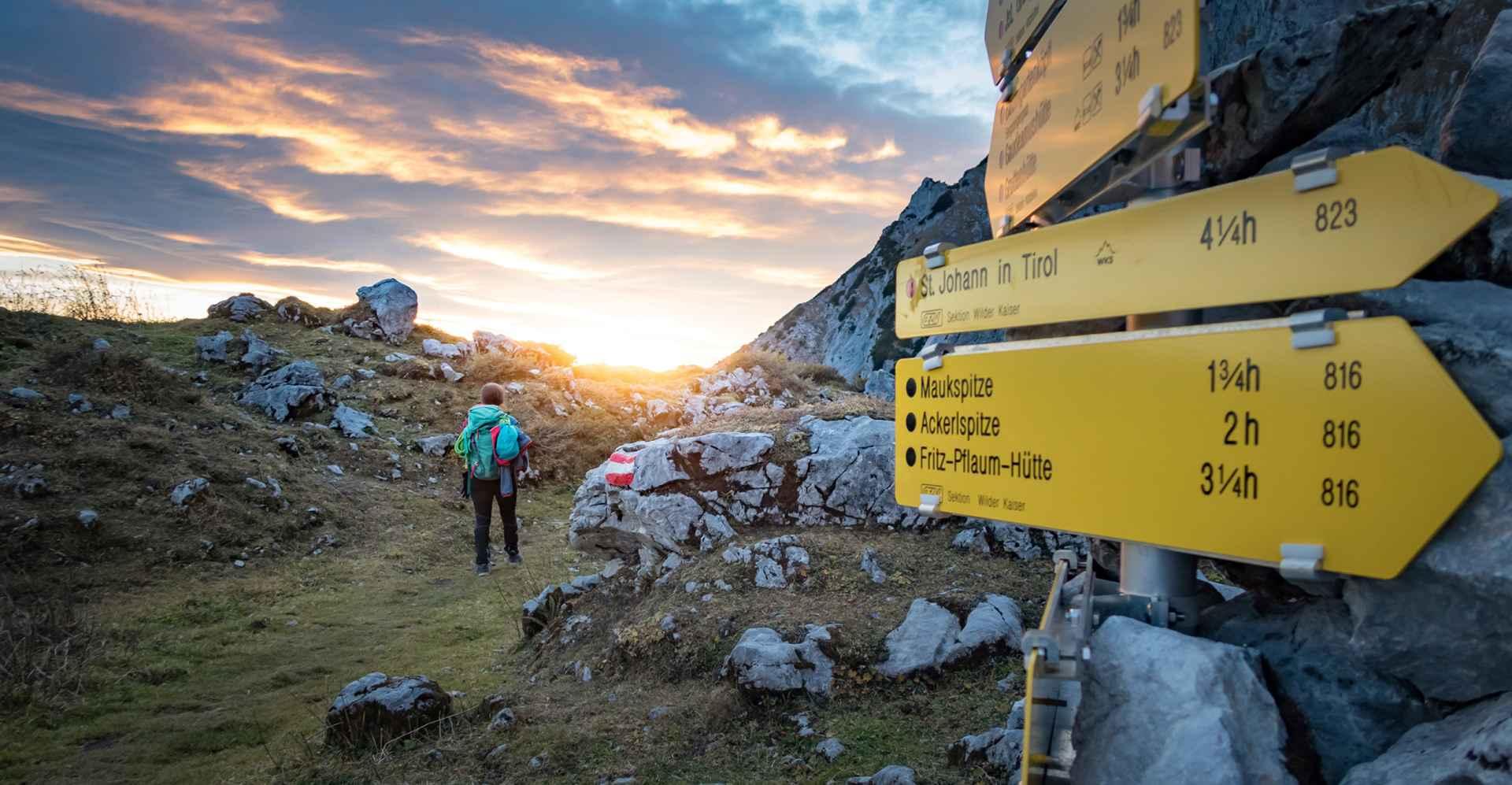 Abstieg von der Maukspitze Westwand