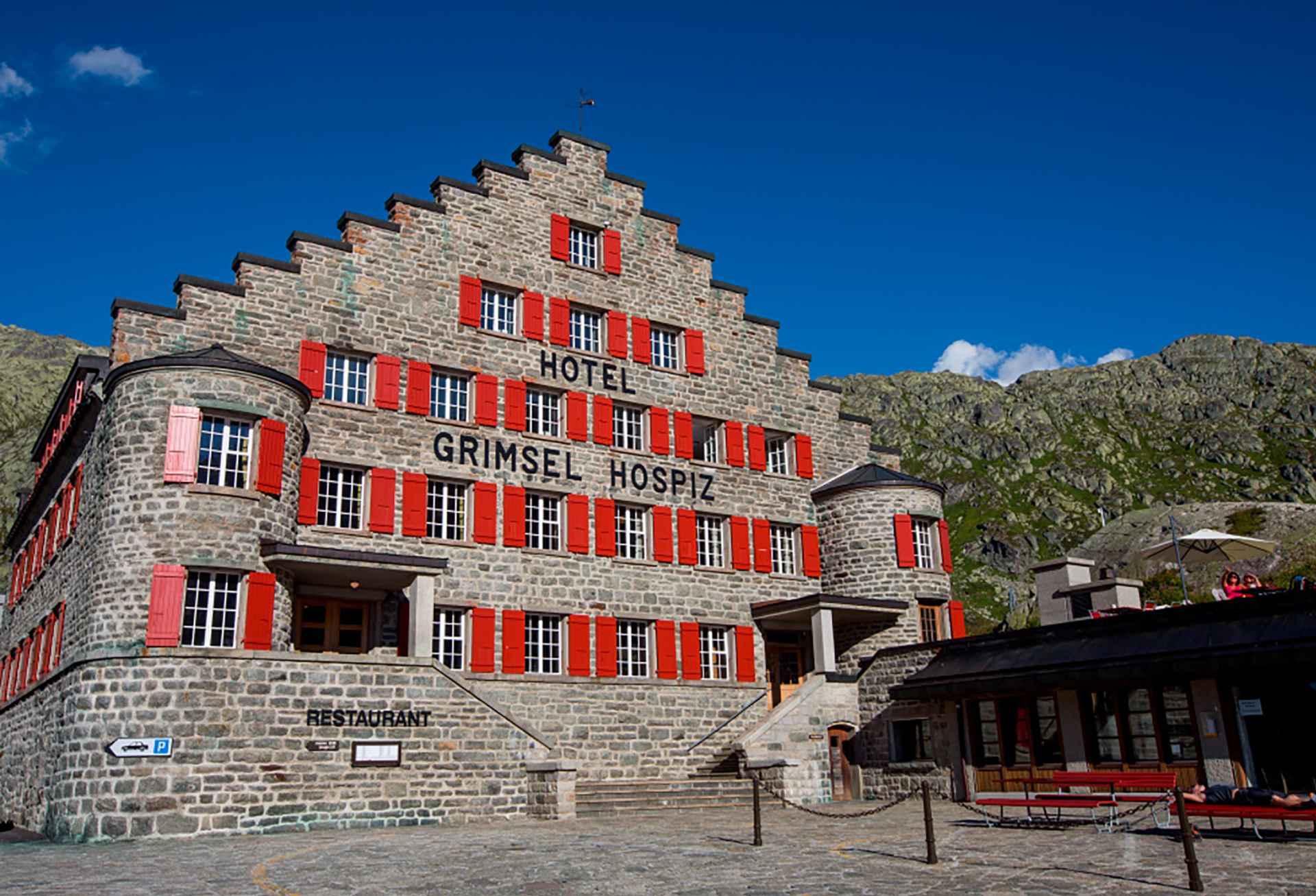 Grimselwelt: Kwo Hospiz Hotel Grimselpass Kraftwerke Oberhasli Grimselsee Haslital Oberhasli