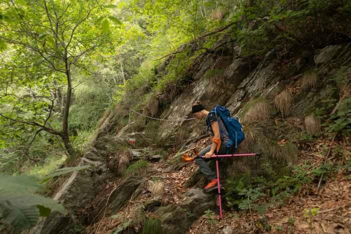 Rein in die Bergstiefel und rauf auf den Gipfel: Mit dem ALPINE PRO GTX Ws ist LOWA ein leichter, robuster und moderner Stiefel gelungen, der in alpinem Gelände zuhause ist. Gleichzeitig wird er spezifischen anatomischen Bedürfnissen gerecht. Zusätzliche durchdachte funktionale Details erhöhen die Freude am Gipfelsturm noch mehr. Also nicht lange überlegen und dem Ruf des Berges folgen!
