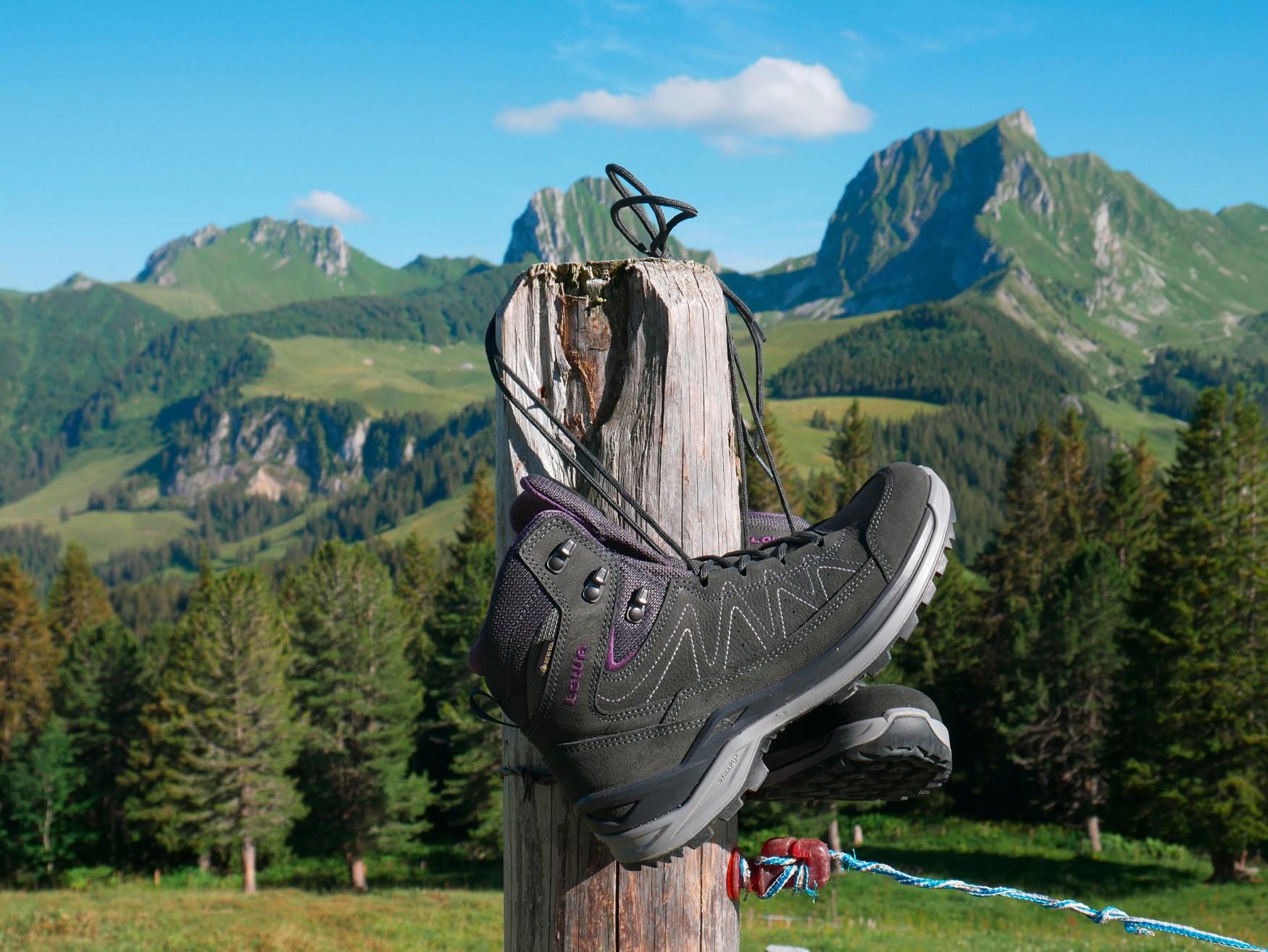 De nieuwe TORO EVO GTX MID van LOWA is heerlijk comfortabel, sportief, flexibel en multifunctioneel te dragen, perfect voor dagelijkse avonturen. Of het nu na het werk of in het weekend is – de veelzijdige outdoorschoenen zijn zo comfortabel dat een klein ommetje op elk moment spontaan kan worden uitgebreid tot een korte wandeling. Het GORE-TEX-membraan zorgt voor een optimale bescherming tegen het weer en een uitstekend ademend vermogen.