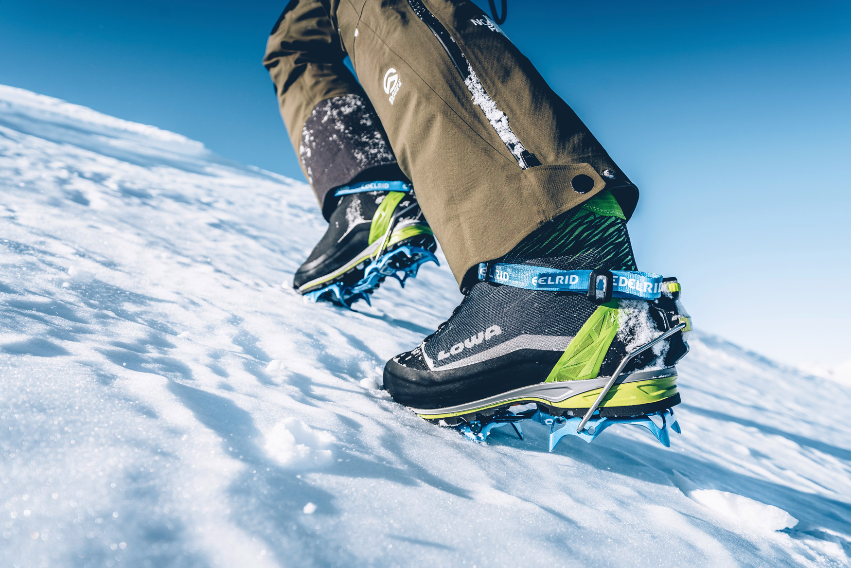 Image photo with the ALPINE ICE GTX, Charmonix 2018