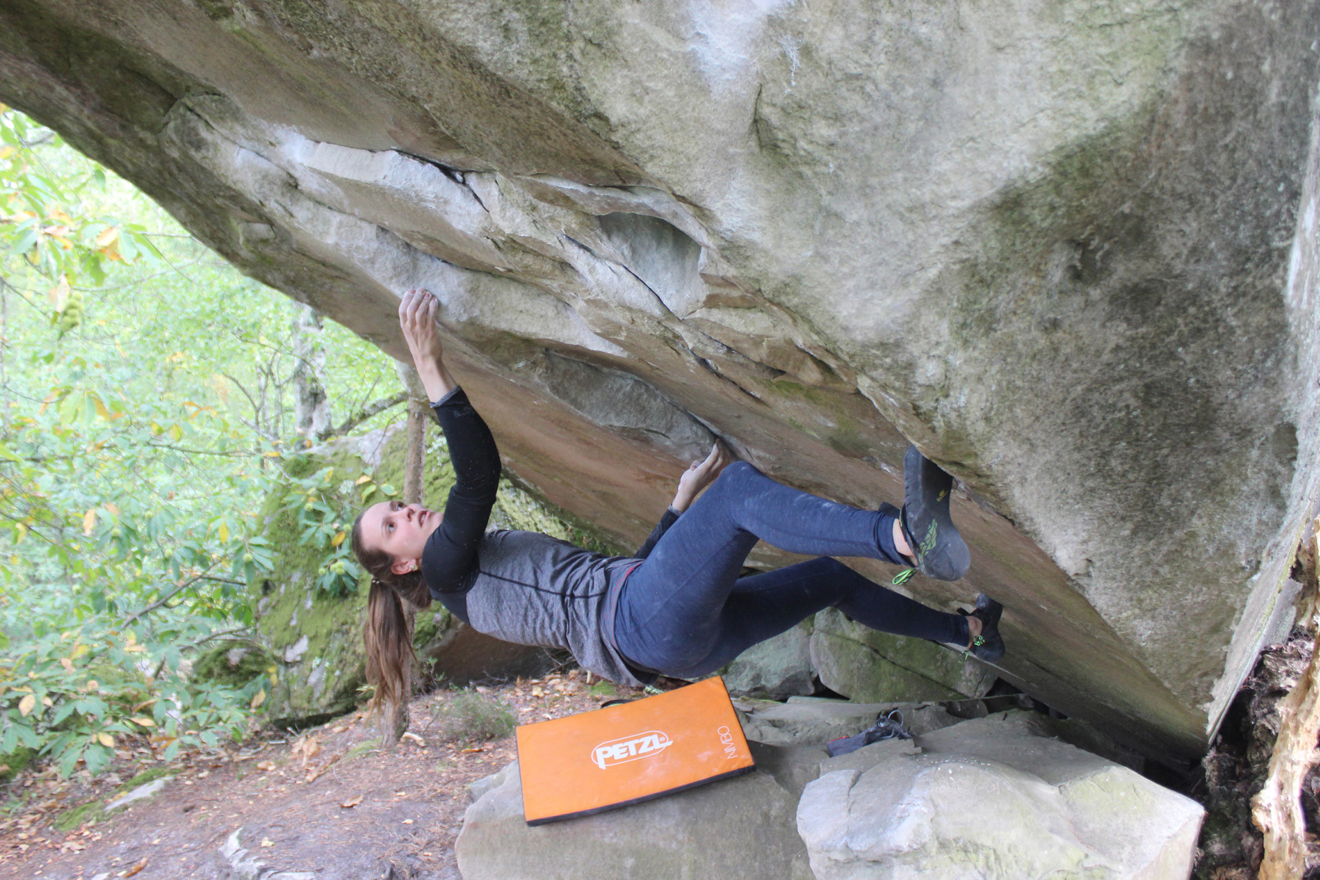 Imagefoto met de ROCKET, Fontainebleau Bouldern