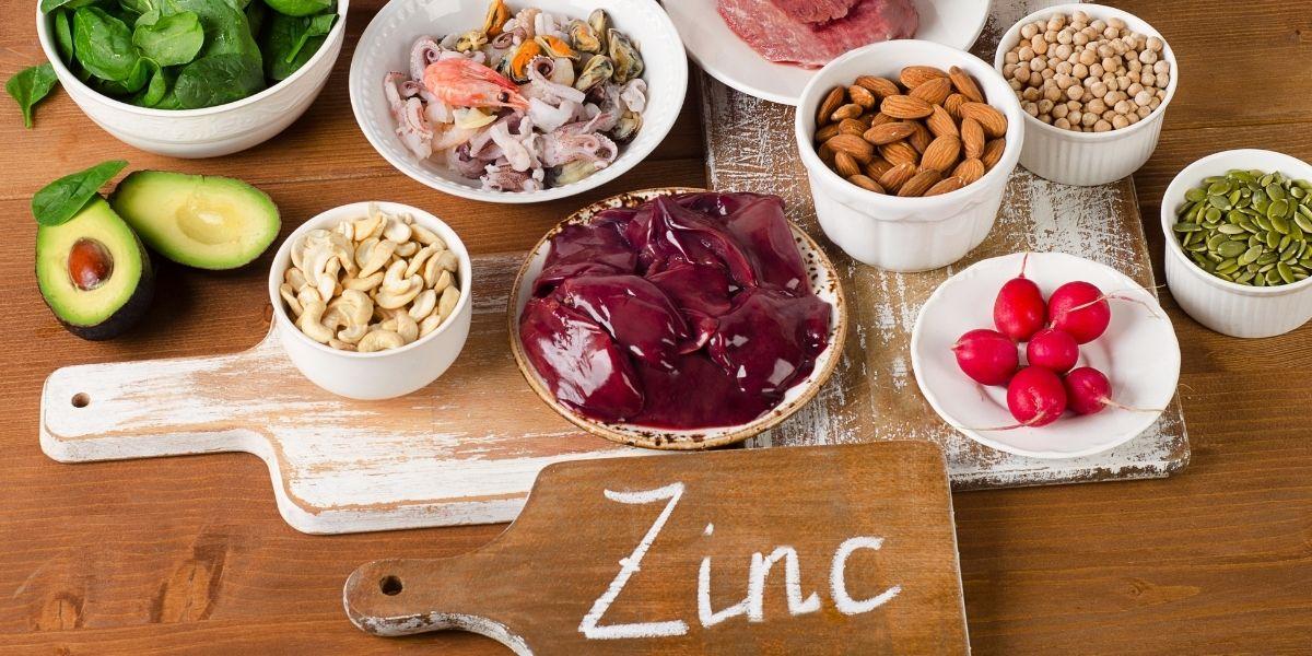 Cibi ricchi di zinco