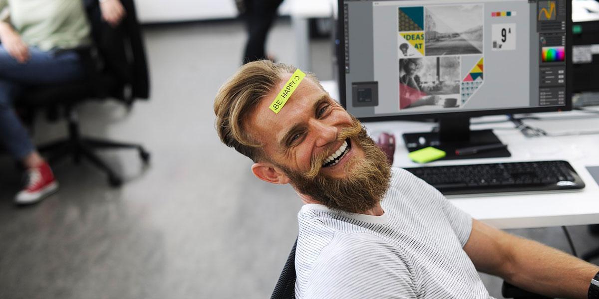 Persona felice