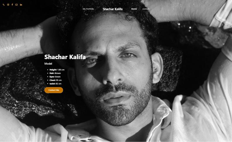 shachar kalifa - Portfoilio