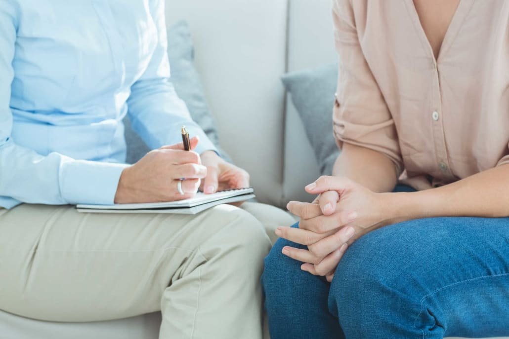 Therapist with Person