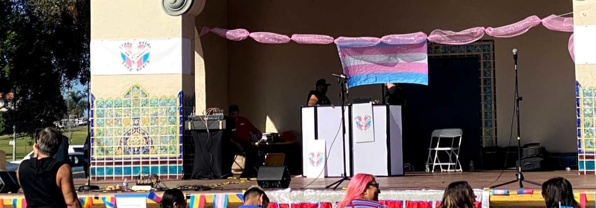 Long Beach Trans Pride Ceremony