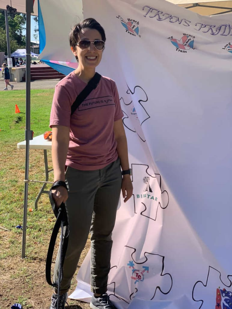Julia at Long Beach Trans Pride Festival