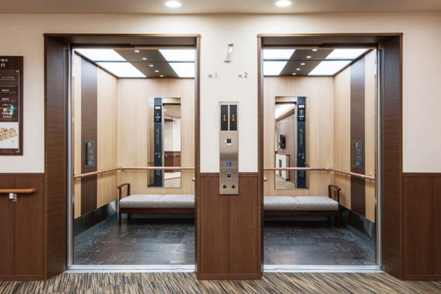 ストレッチャー対応型エレベーター