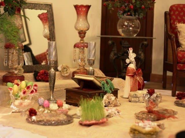 tradition Navroze table