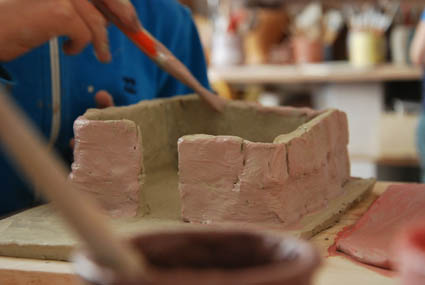 Atelier de céramique paris 18 stage modelage enfant vacances Toussaint