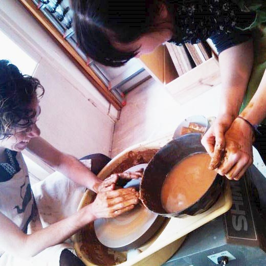 Atelier de céramique paris 18 cours_tournage