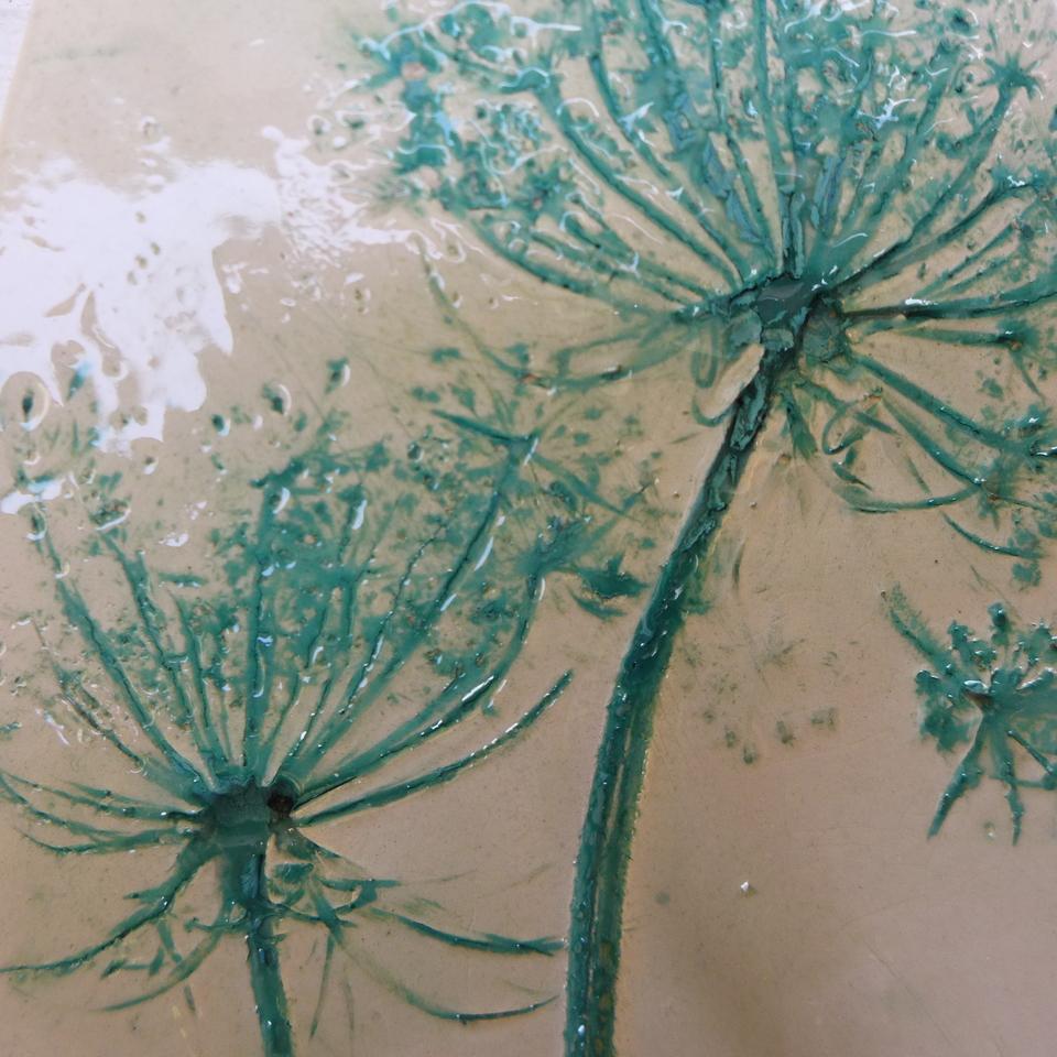 Atelier de céramique paris 18 impressions végétales