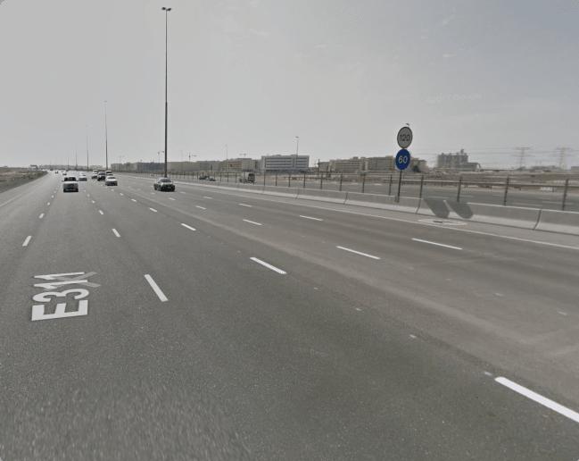 Freeway - Speed limit