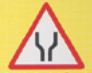 <p>What is the meaning of this sign in the roadways?</p>