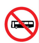 Bus Prohibited
