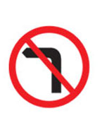 Left Turn Prohibited