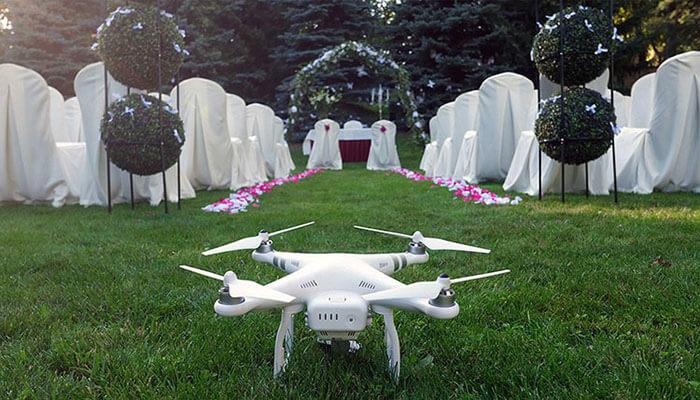 filmowanie z drona -