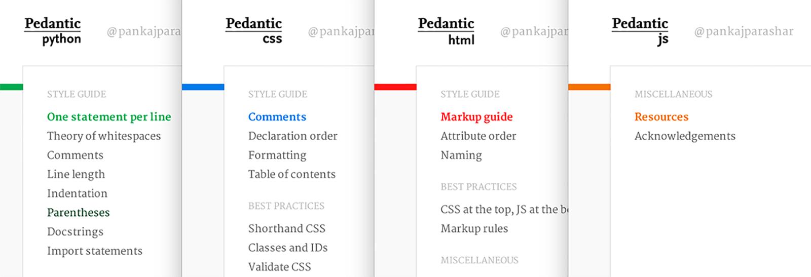 Pedantic series