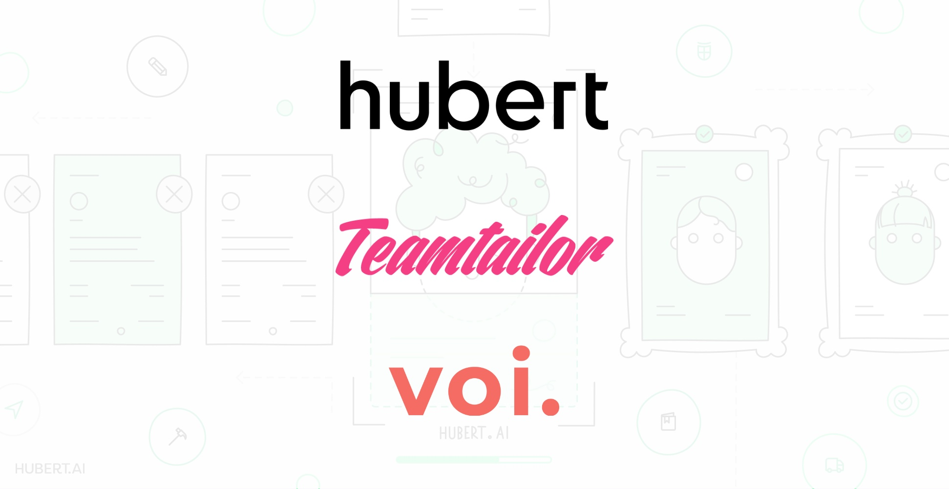 Foodora and Hubert Pilot