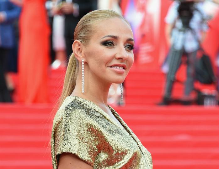«А мальчик вырос»: Татьяна Навка показала, как в шифоновом платье танцевала с Киркоровым