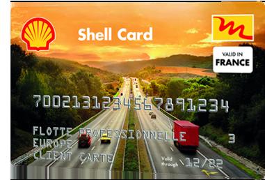 Carte de Carburant Shell