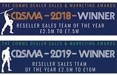 Comms Dealer Sales & Marketing Awards – Best Sales Team of the Year winner