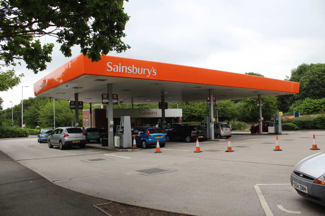 Find out where I can use a Sainsbury's fuel card