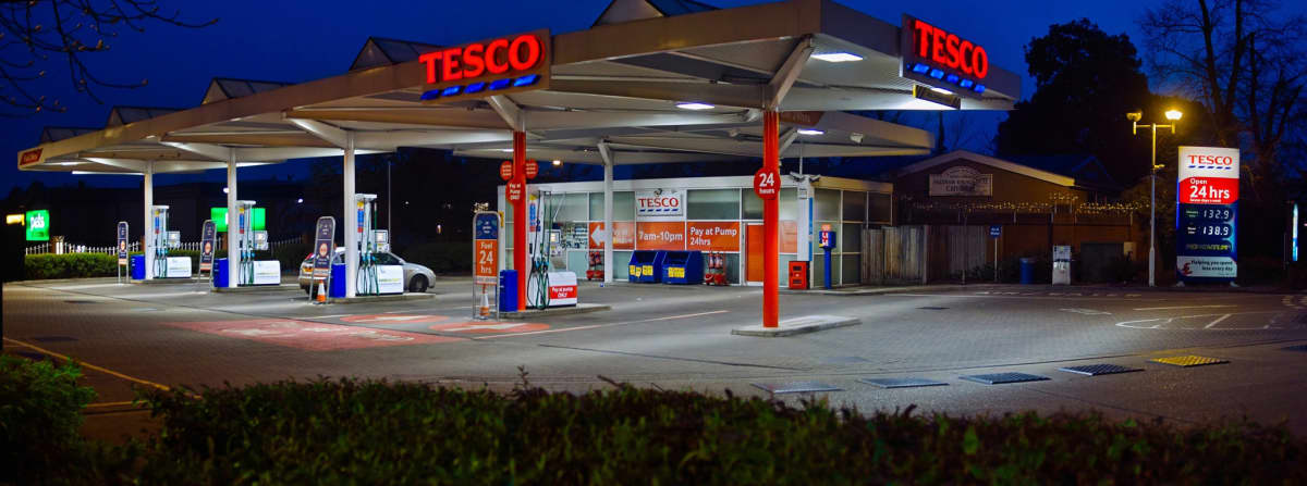 Find out where I can use a Tesco fuel card