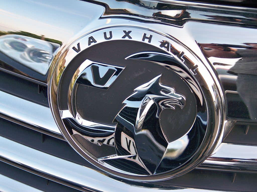 A Vauxhall logo for a fuel efficient car