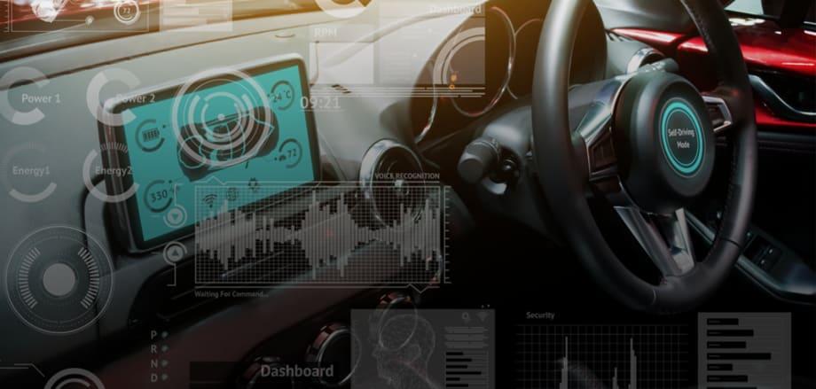 Telematics system inside a car
