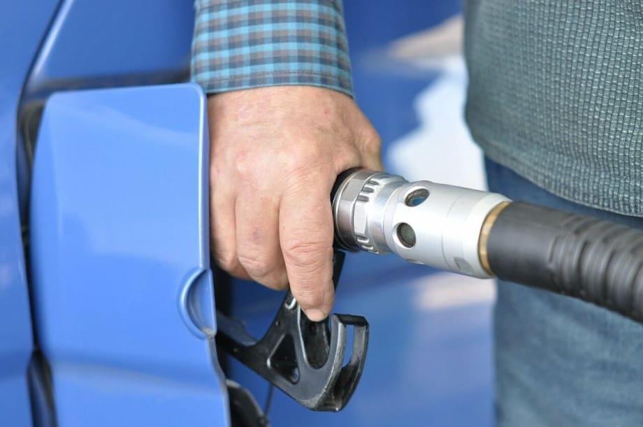 Man Fuelling Car