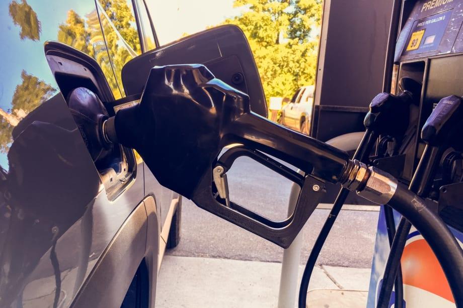 Pump in car