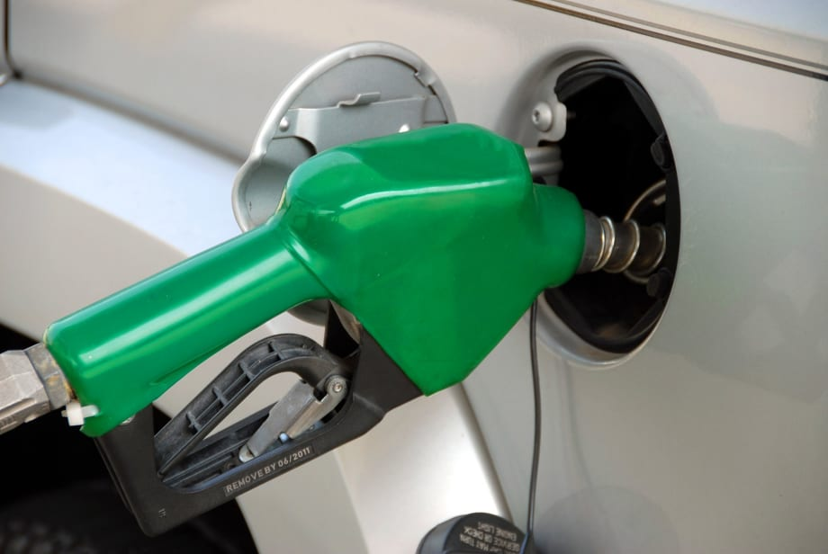 Green pump in vehicle