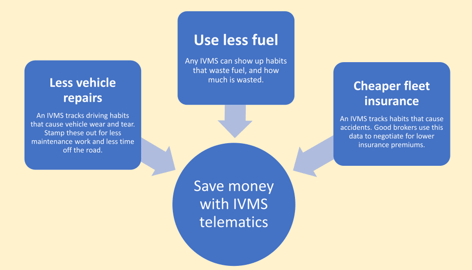 How does IVMS save money infographic
