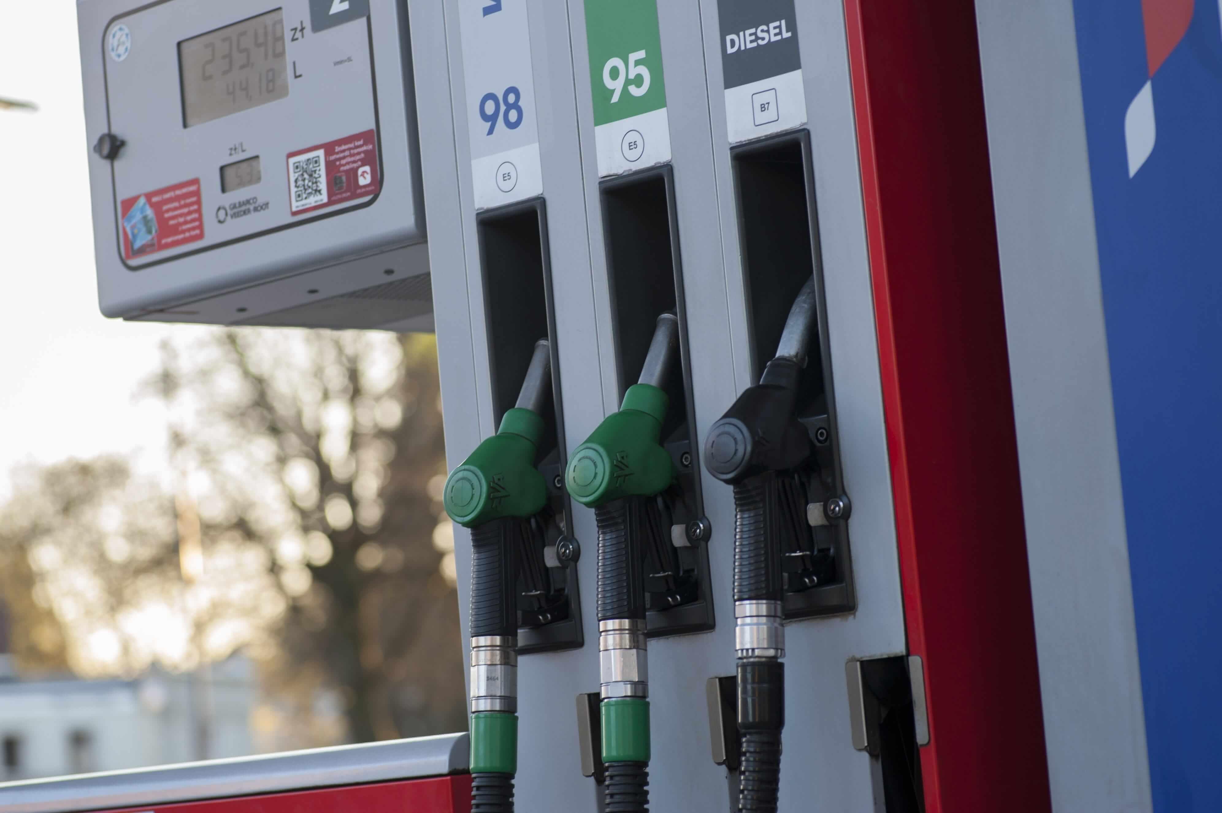 Diesel and petrol pumps