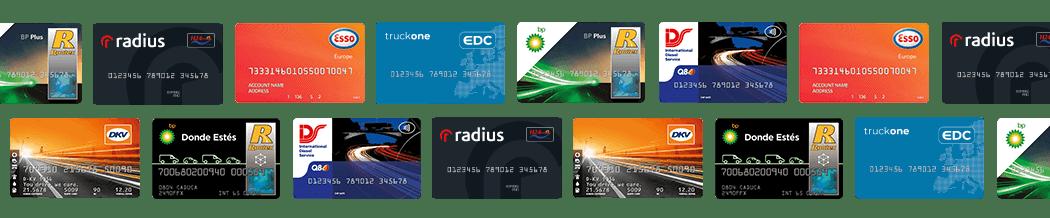 Comparar tarjetas de combustible