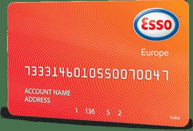 Esso Europe European fuel card
