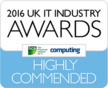 2016 UK IT Industry Awards - Highly Commended