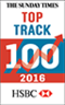 The Sunday Times Top Track 100 2016