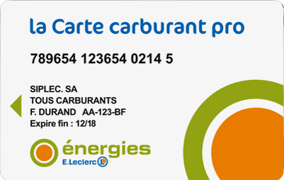 La Carte Carburant Pro E.Leclerc