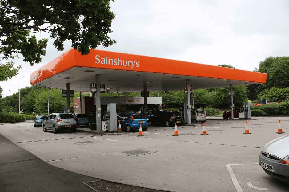 Sainsbury's Fuel Station